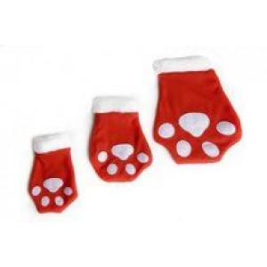 Paw Santa Stocking